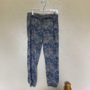 Camouflage Print Sweatpants Joggers